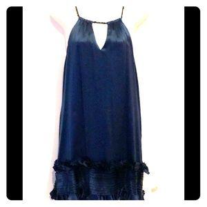 BCBGMaxAzria royal blue silk dress